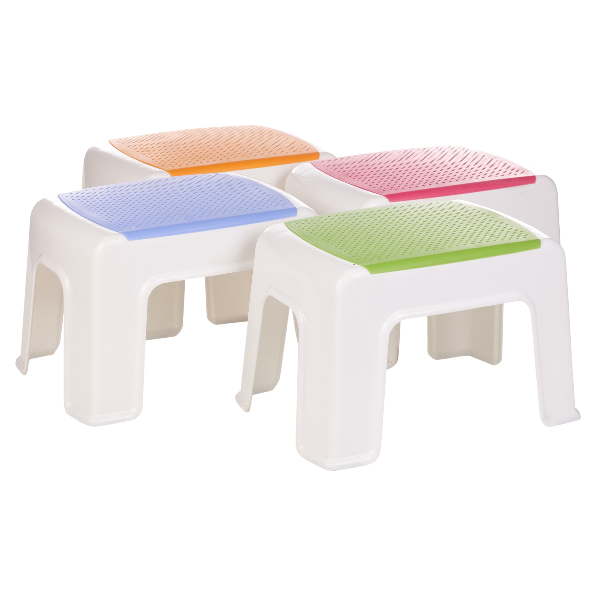 #BD650E  Sturdy Plastic Step Stool Home Kitchen Stacking Footstool Kids NEW with 2000x2000 px of Recommended Plastic Stackable Stools 20002000 save image @ avoidforclosure.info