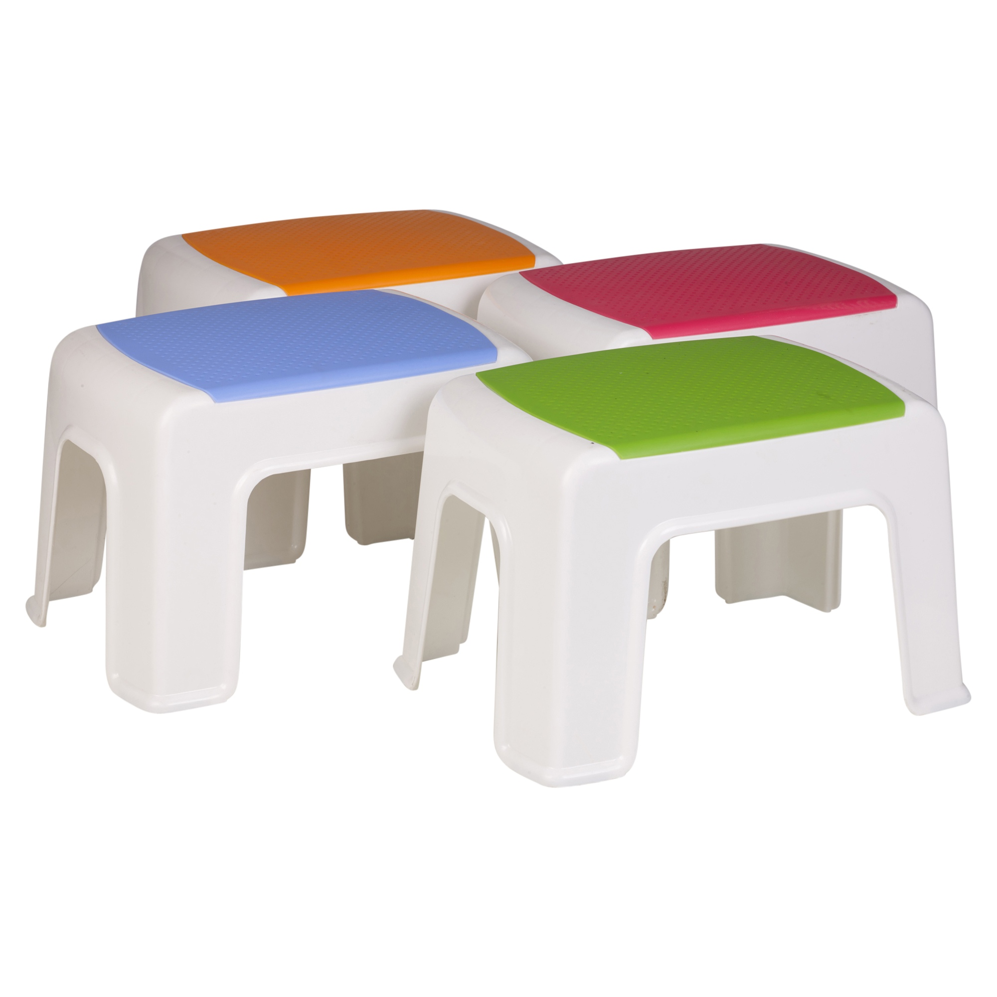Children S Playroom Multi Purpose Sturdy Plastic Step Stool Home Kitchen