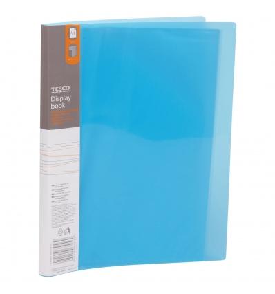 Tesco A4 Display Pocket Book [679569]