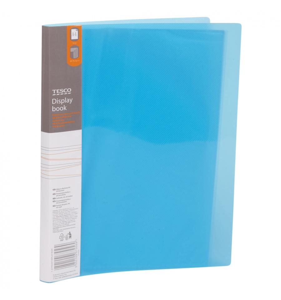 Tesco A4 Display Pocket Book 679569