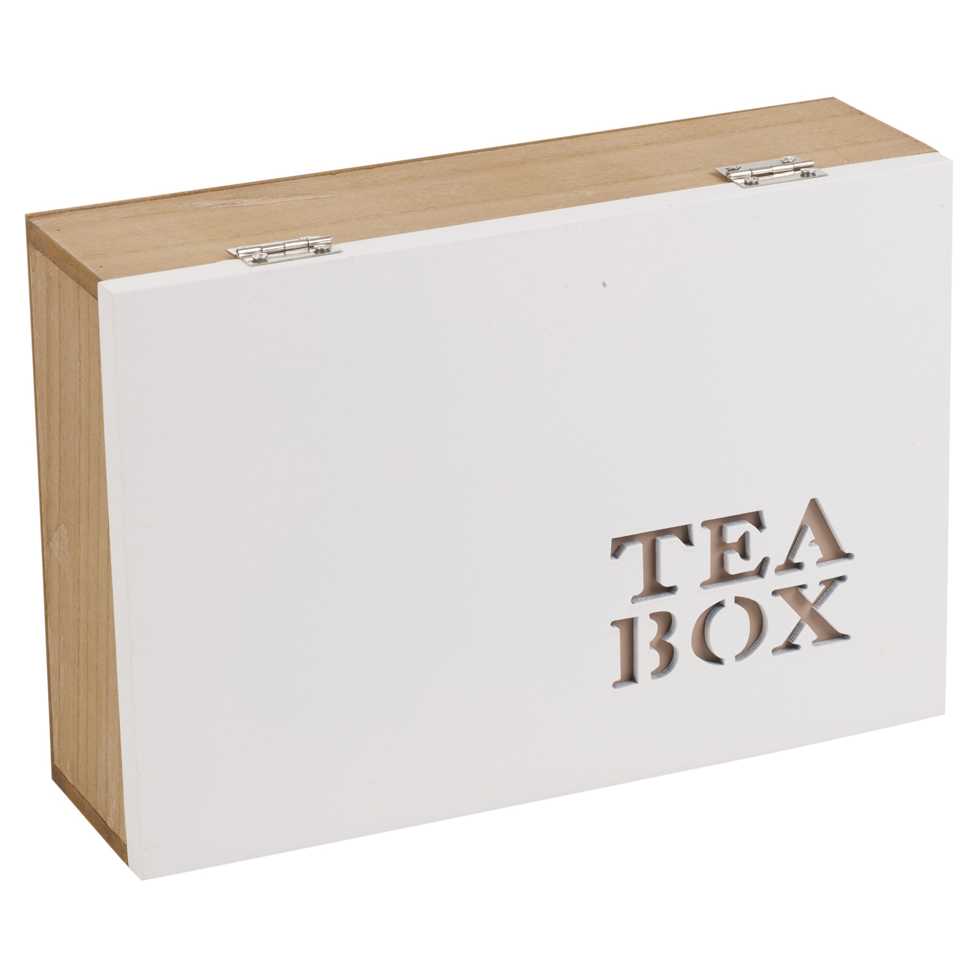 6 Or 9 Section Compartments Natural Wooden Chic Tea Bag ...