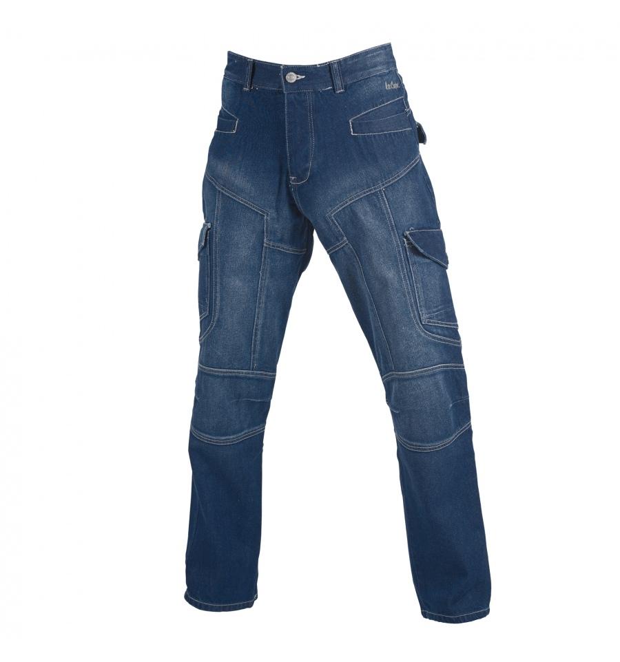 lee cooper jeans mens cargo mid blue am8393