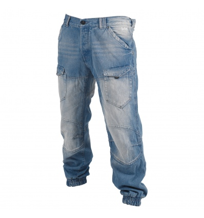 Lee Cooper Jeans - Mens Cuffed, Light Blue [AM8541]