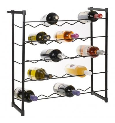 Stackable Wine Rack 30 Bottles [960135]