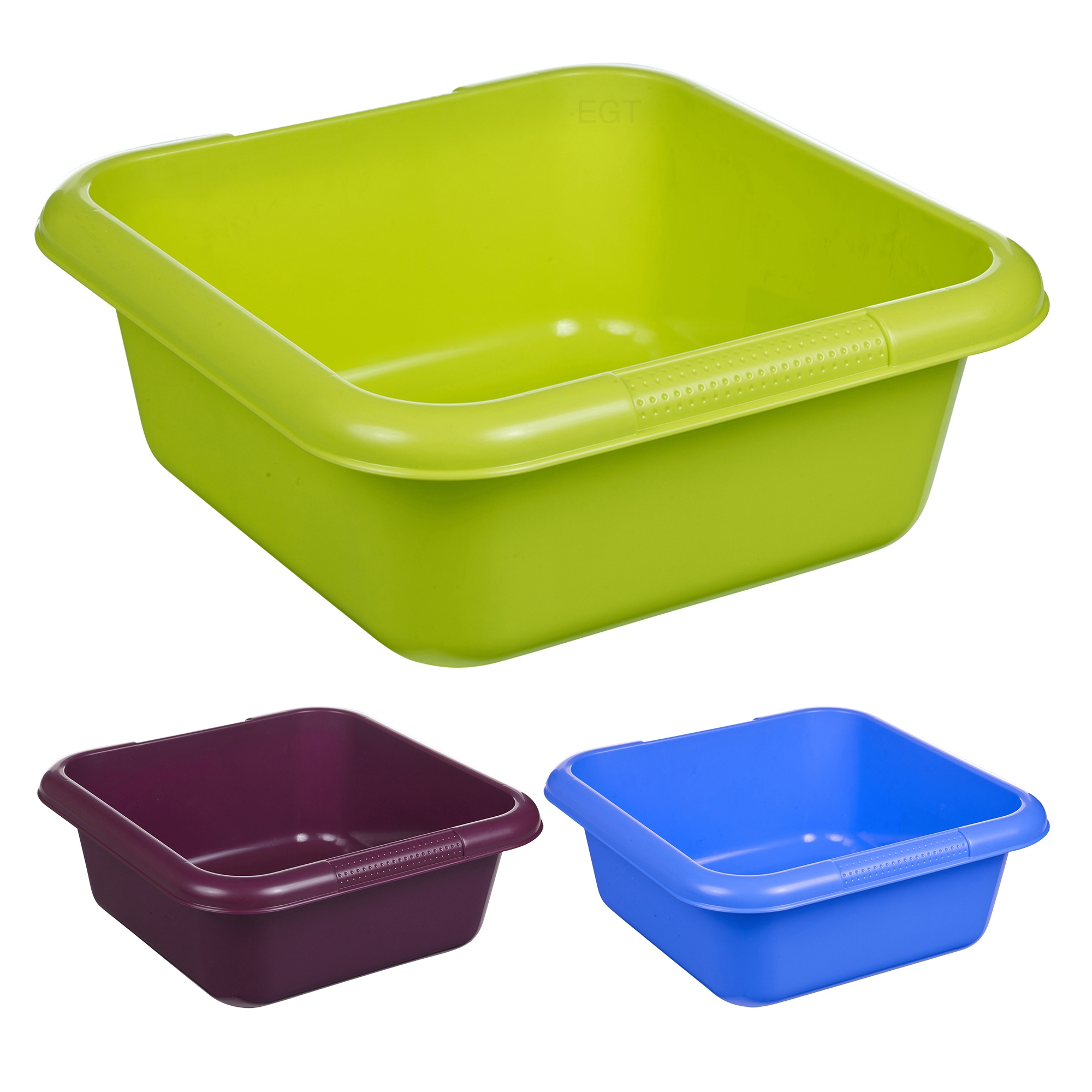 Square Sink Bowl : Details about Square Washing Up Bowl Stackable Kitchen Sink Plastic ...