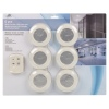 6pcs Multi-function LED Push Light [798622]