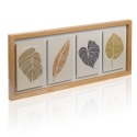4 Floating Leaves Canvas Wall Art [038330]