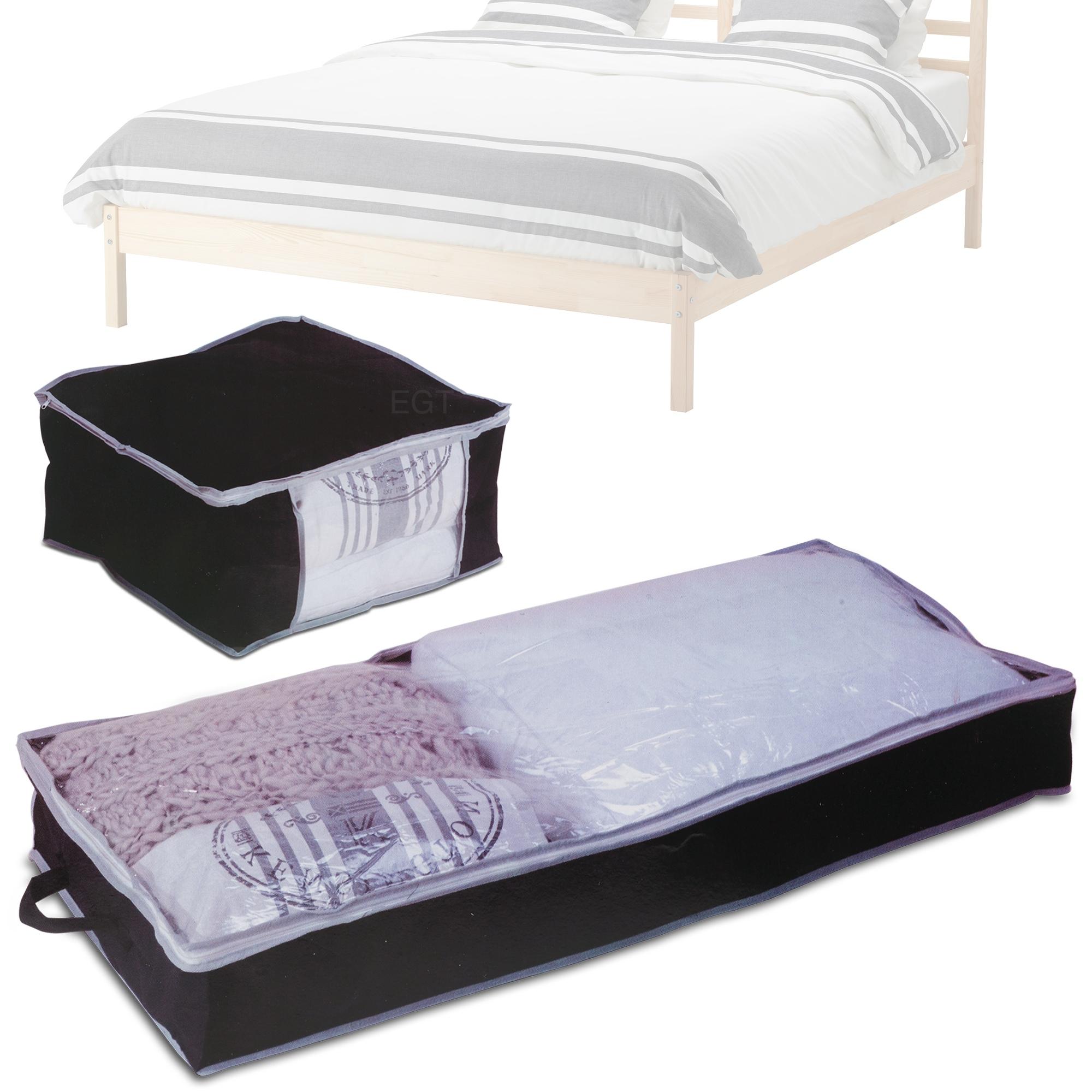 Under Bed Storage Bag Organiser Easy Access Zip Duvet