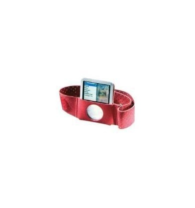 Ipod Nano 3rd Gen Silicone Case (Red)