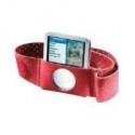 iPod Nano 3rd Gen Silicone Sport Case - Red (FD097)
