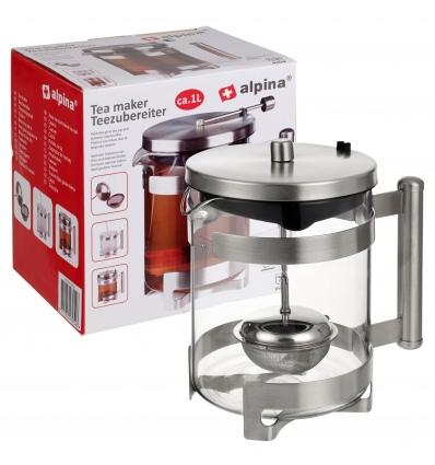 1 Litre Tea Pot with Infuser [979526]