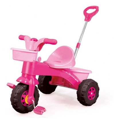 Dolu My First Trike Pink With Parent Handle 070043