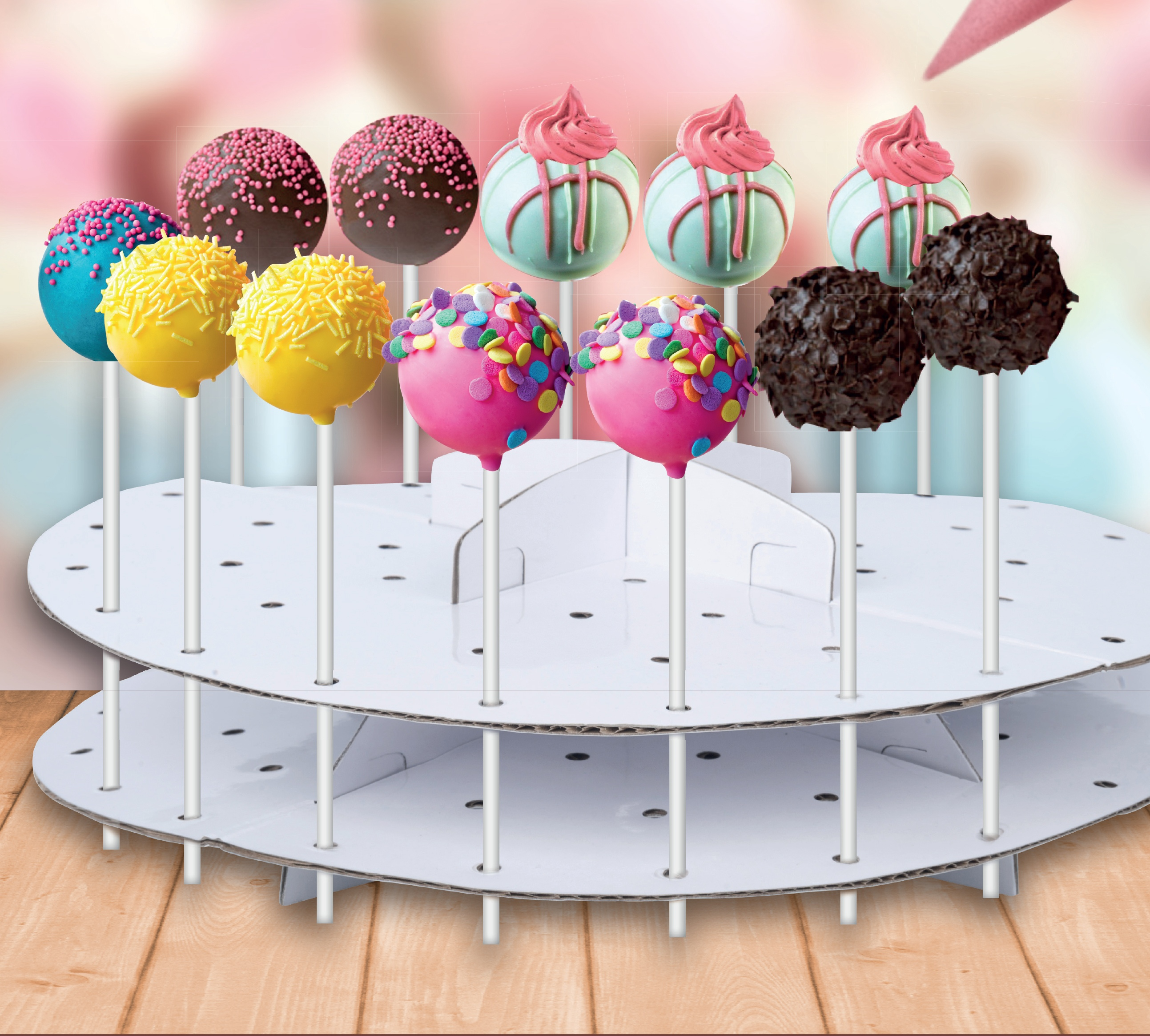 Cake Pop Tower Display