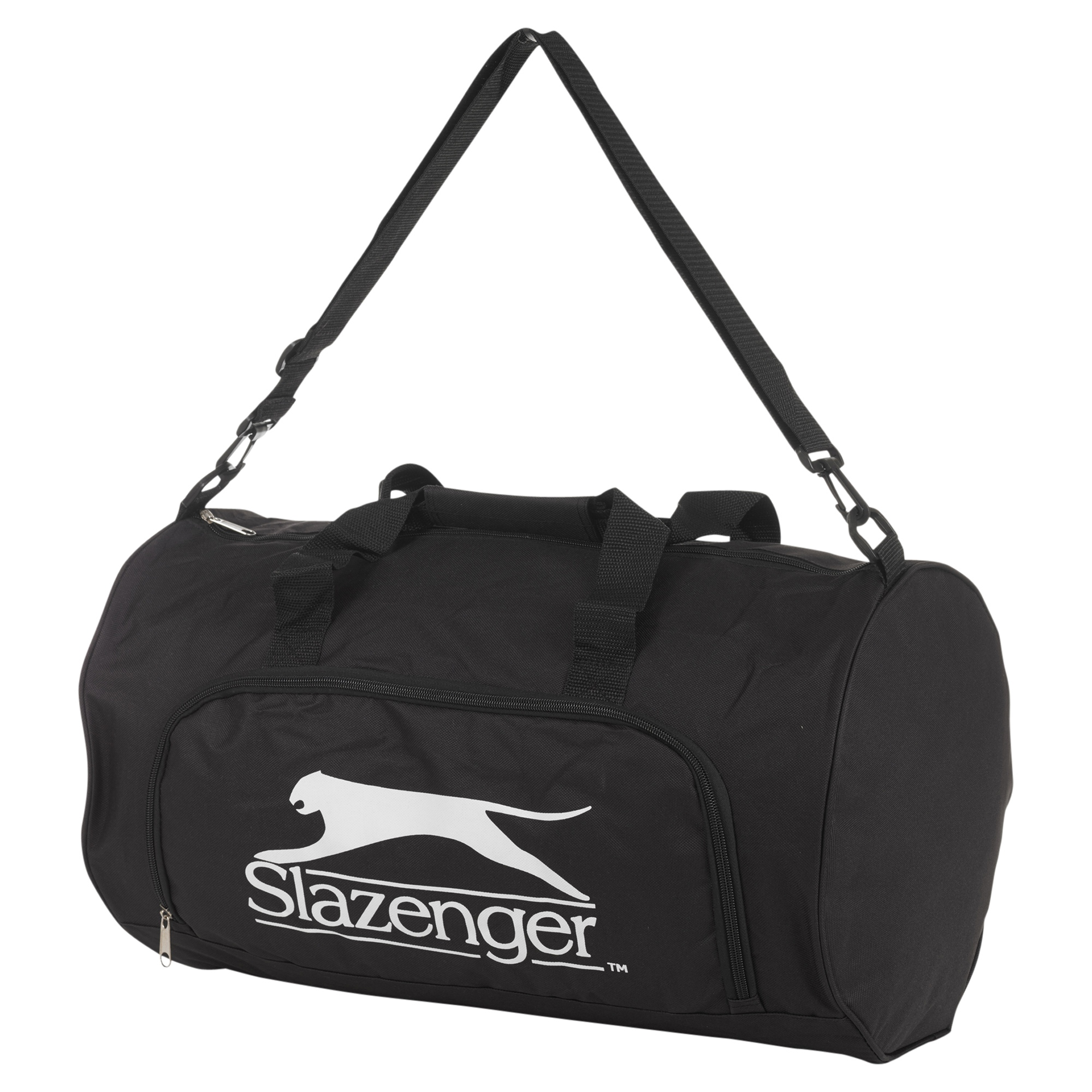 Slazenger Sports Gym Holdall Bag Travel Lightweight Luggage