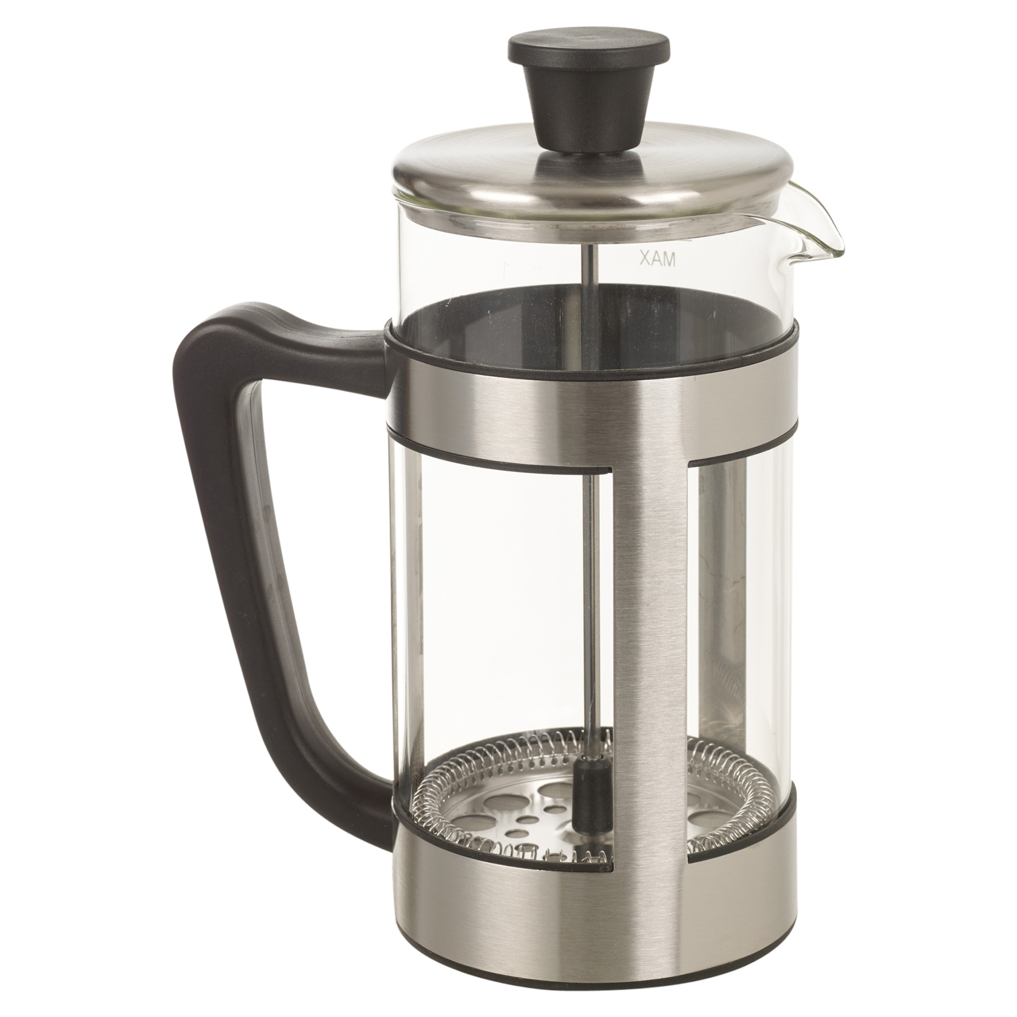 alpina 8 cup 1ltr cafetiere coffee plunger french press filter maker glass cafe ebay. Black Bedroom Furniture Sets. Home Design Ideas