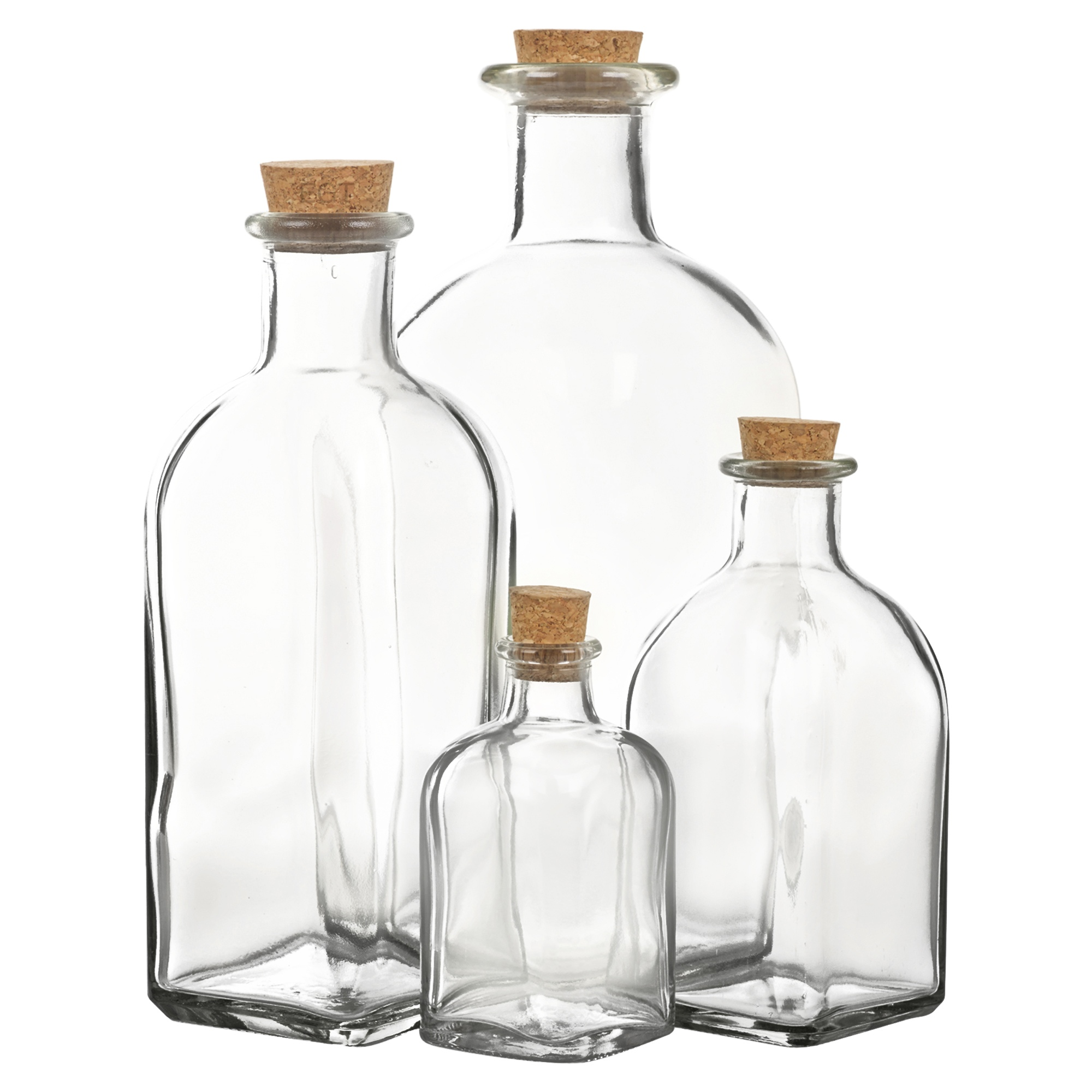 Ml Glass Bottle With Stopper