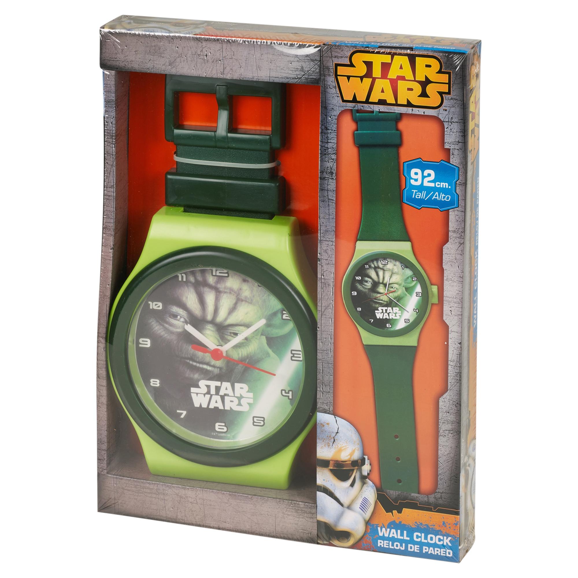 Large 92cm Wrist Watch Style Disney Wall Clock Childrens