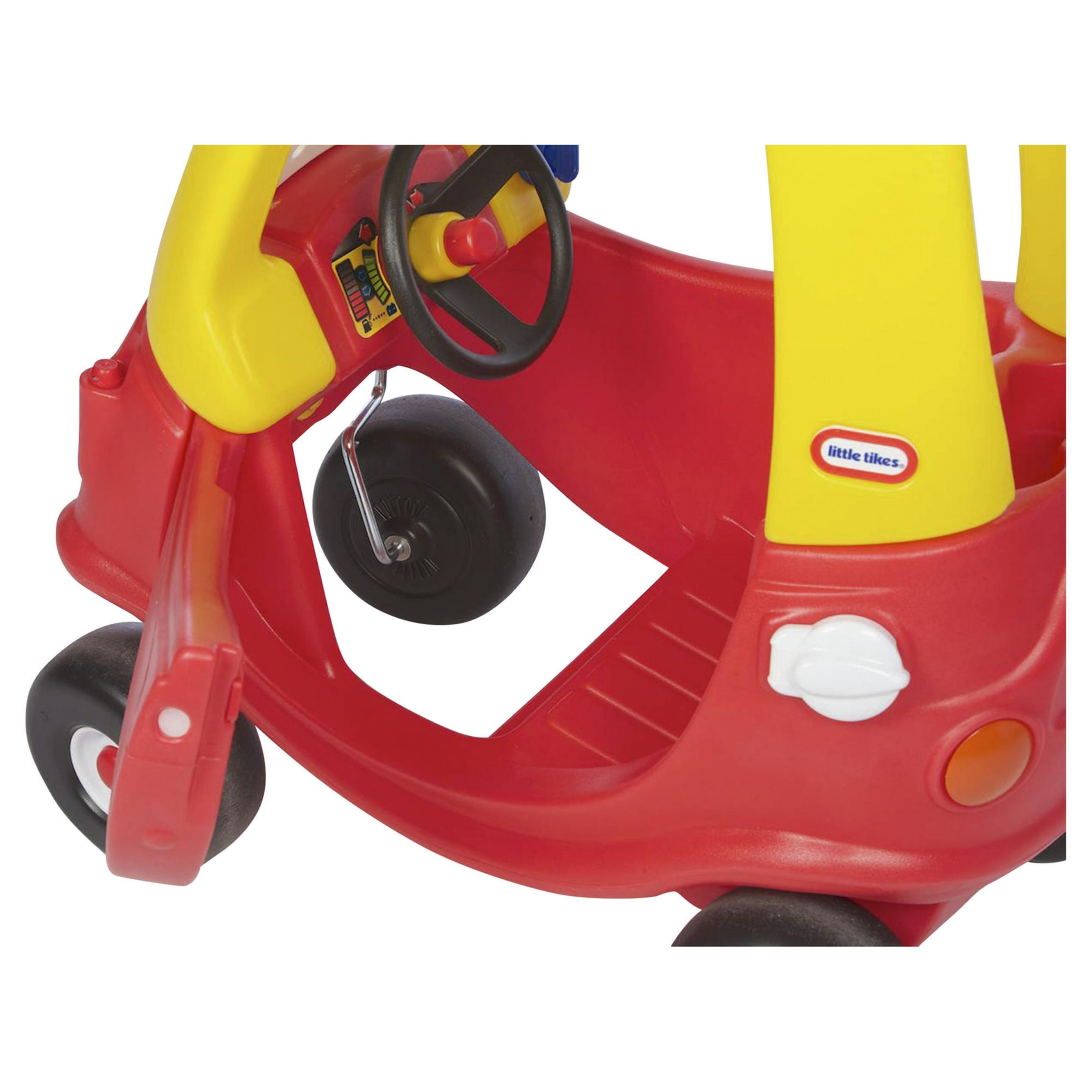 Little Tikes Red Cozy Coupe Auto Della Polizia Giro Su
