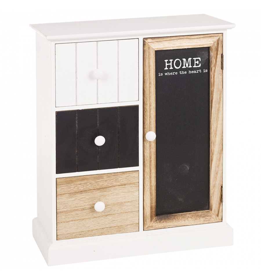 Home style 3 drawer 1 door cabinet 980133 for Homestyle kitchen doors