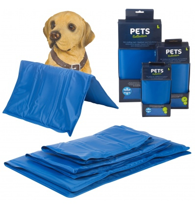 PETS Collection Pet Dog Cooling Mat Blue Pad Large [178190]