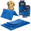 URBNLIVING Pet Dog Cooling Mat Blue Pad Large 50 x 65cm [178190]