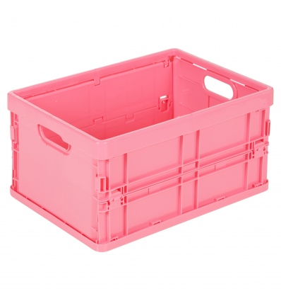 Storage Solutions Plastic Small Foldable Crate [328526+328540]