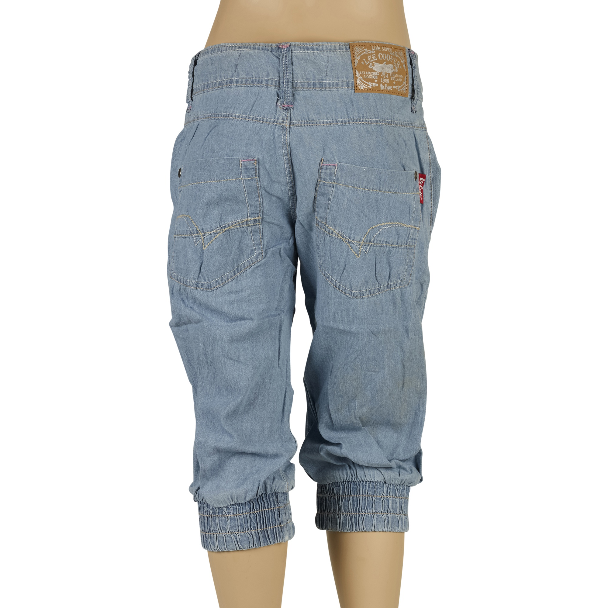 8df85be6 Girls Lee Cooper Designer Denim Jeans Casual Fashion Trousers Pants ...