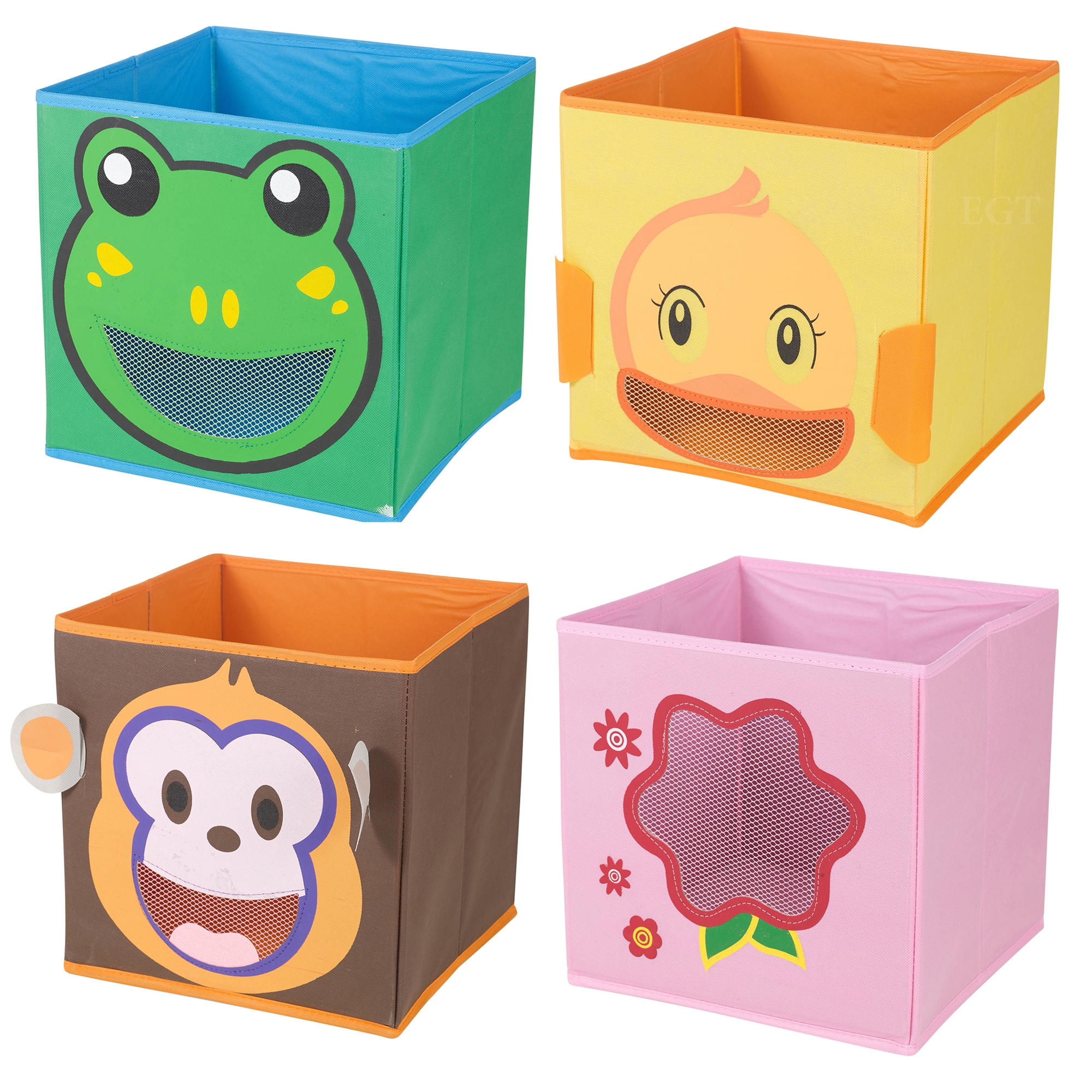 Best Toy Boxes And Chests For Kids : Kids toy animal storage box non woven fabric collapsible