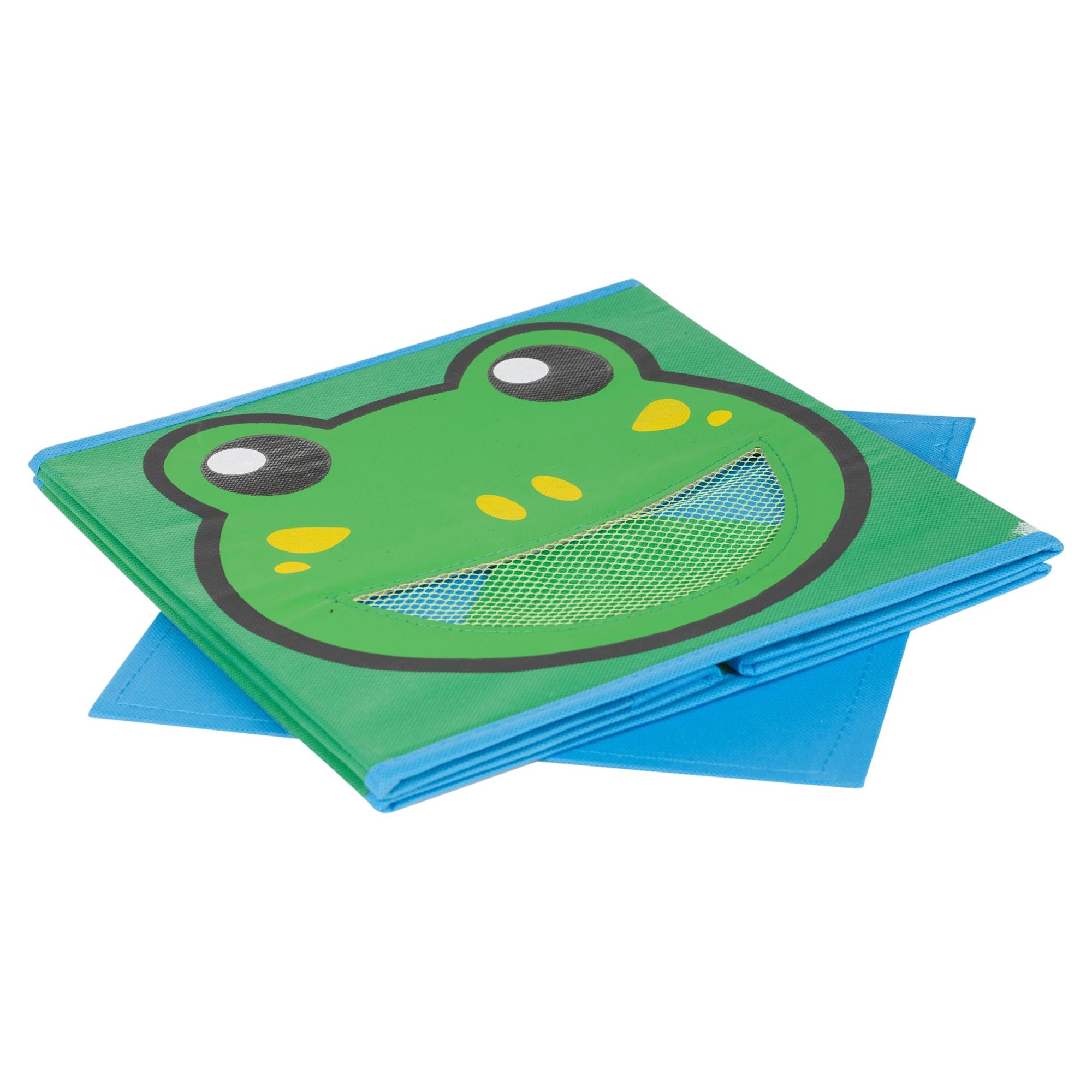 Ni os juguetes animal caja almacenaje no tejidos tela - Cajas tela almacenaje ...