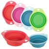 PETS Collection Small Silicone Pet Feeder 1 Handle Bowl [727740]