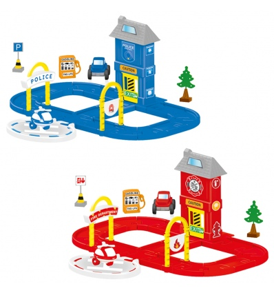 36pc Emergency Services Play-Set