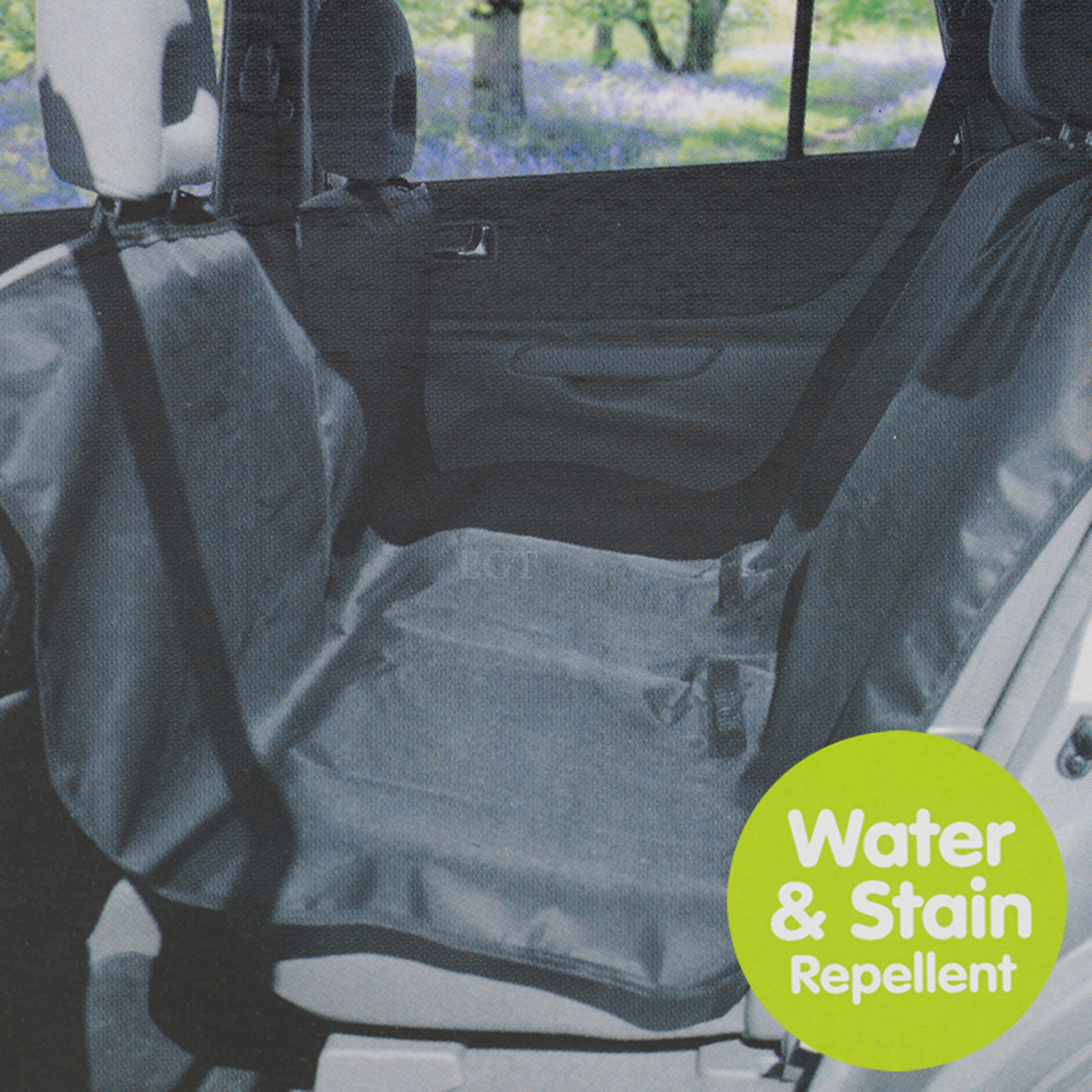 heavy duty car back seat protector dog pet washable water stain repellent cover ebay. Black Bedroom Furniture Sets. Home Design Ideas