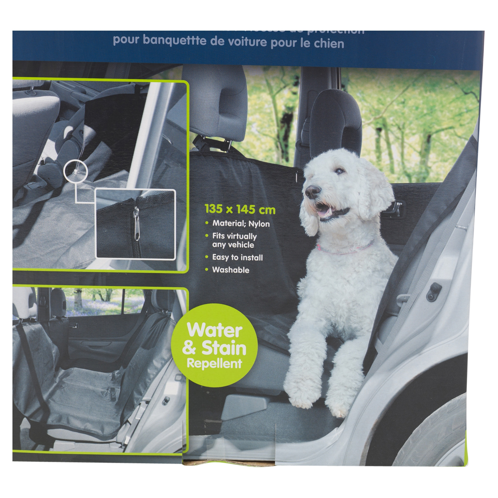 pets car seat cover protect dog animals washable nylon water stain repellent ebay. Black Bedroom Furniture Sets. Home Design Ideas