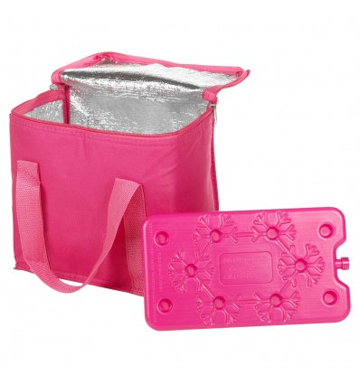 2pc Cooler Bag 7L w/Freezer Block [419947]