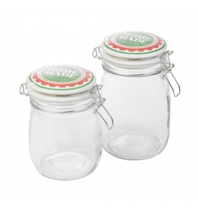 Food Storage Jar With Ceramic Lid [945761]