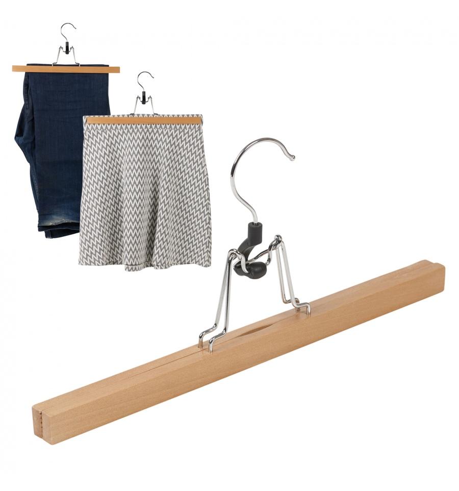 Wood Skirt Hanger 2