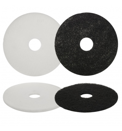 5 cleaning pads 17 floor buffer polishing pads for 17 floor buffer pads