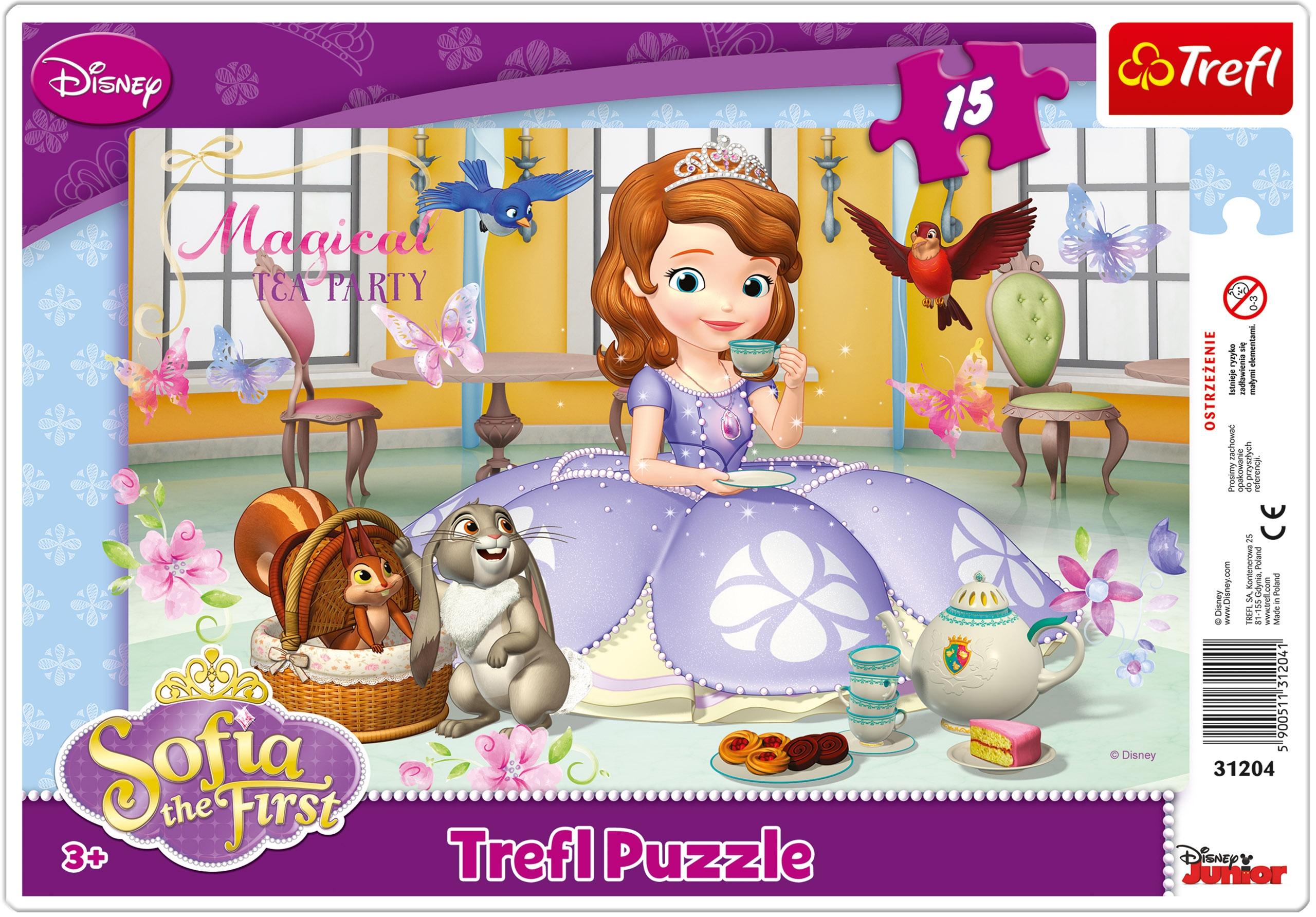Trefl 15 Piece Baby Kids Girls Infant Sofia The First