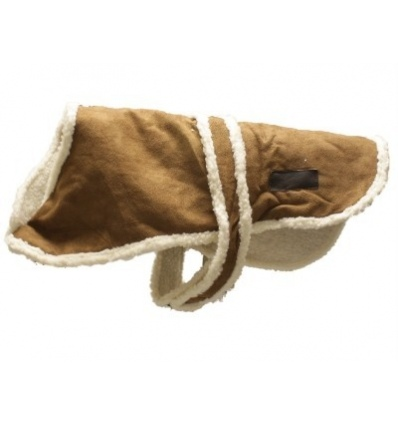 Warm Cosy Dog Fleece Jacket [Chammy - Large]