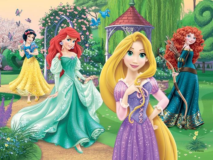 Trefl 30 pièces enfants filles DISNEY PRINCESSES RAIPONCE ARIEL Jigsaw Puzzle Neuf