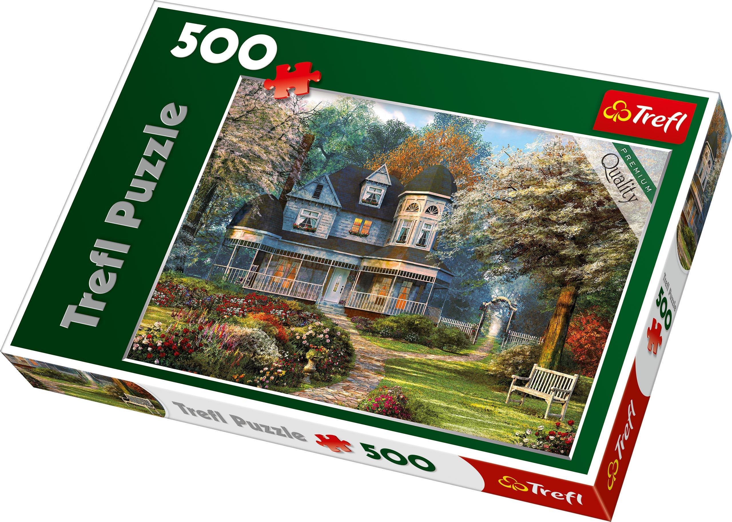 Trefl 500 Piece Adult Large House Of Dreams Landscape