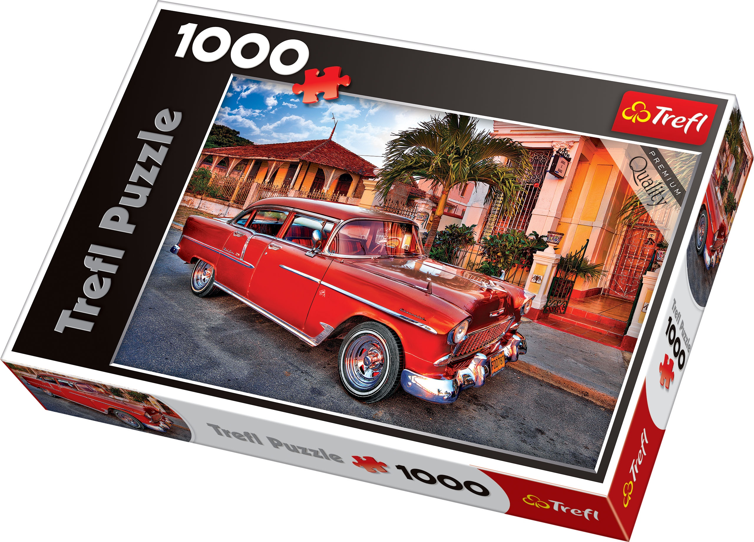 Trefl 1000 Piece Adult Large Chevrolet Bel Air Car