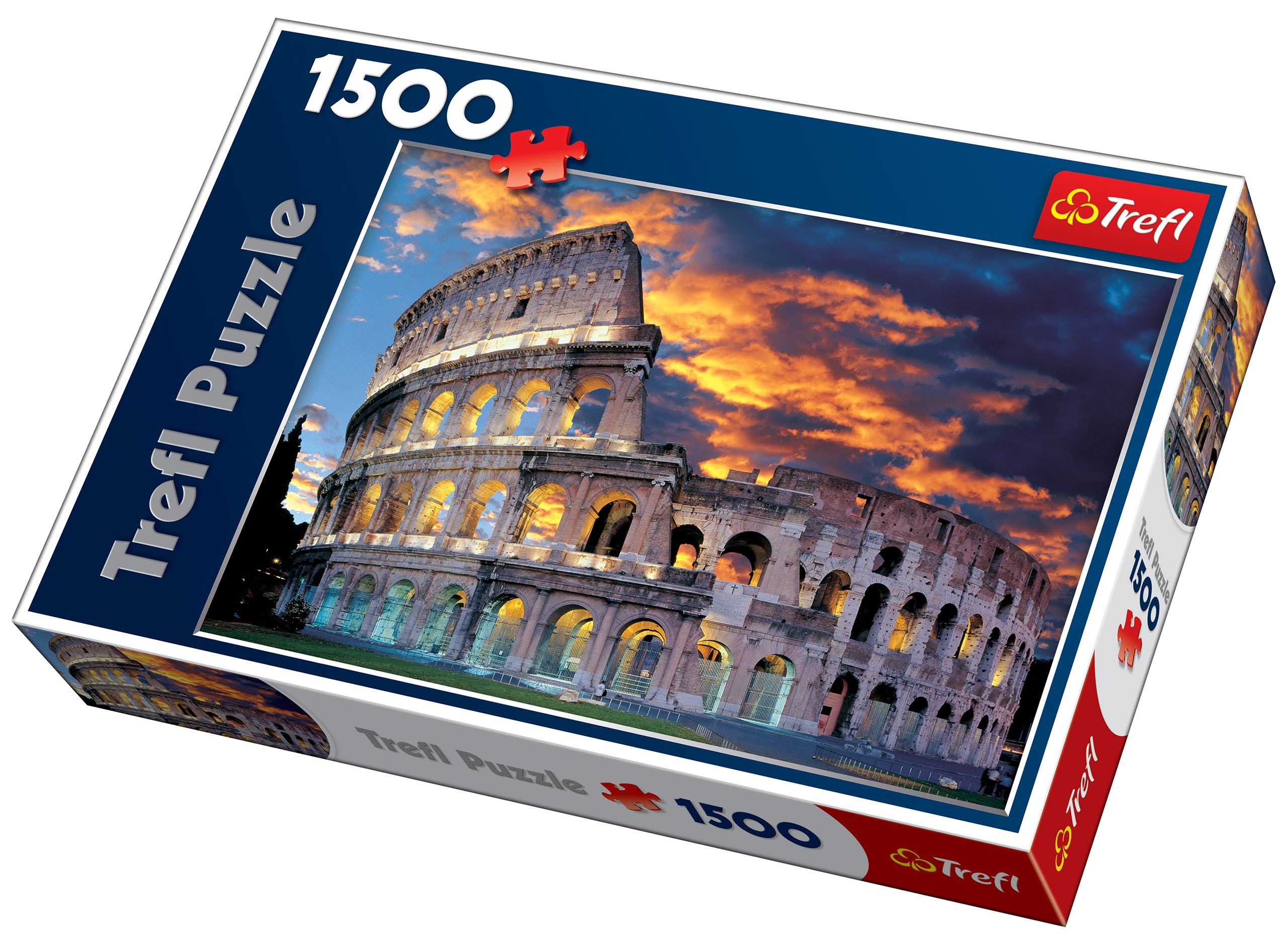 Trefl 1500 Piece Adult Large Rome Colosseum Theatre Floor