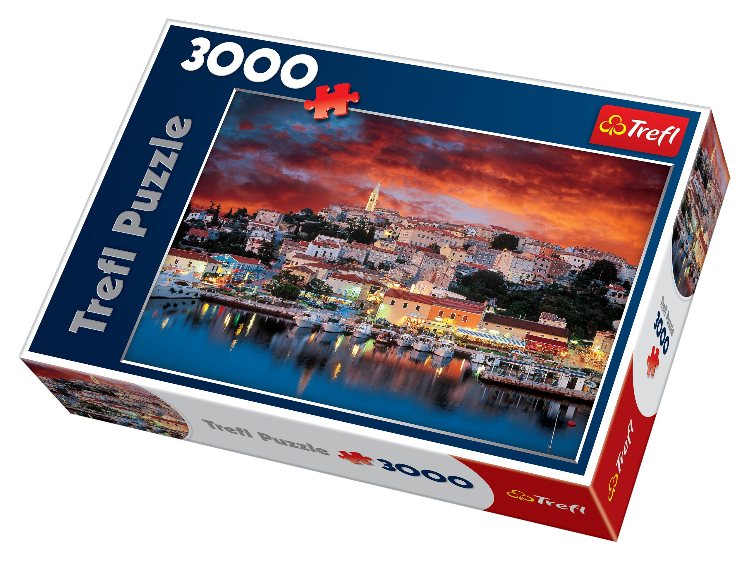 trefl 3000 piece adult large vrsar istria holiday resort croatia jigsaw puzzle ebay. Black Bedroom Furniture Sets. Home Design Ideas