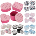 4Pc Gift Boxes Assorted Shapes W/ Lid
