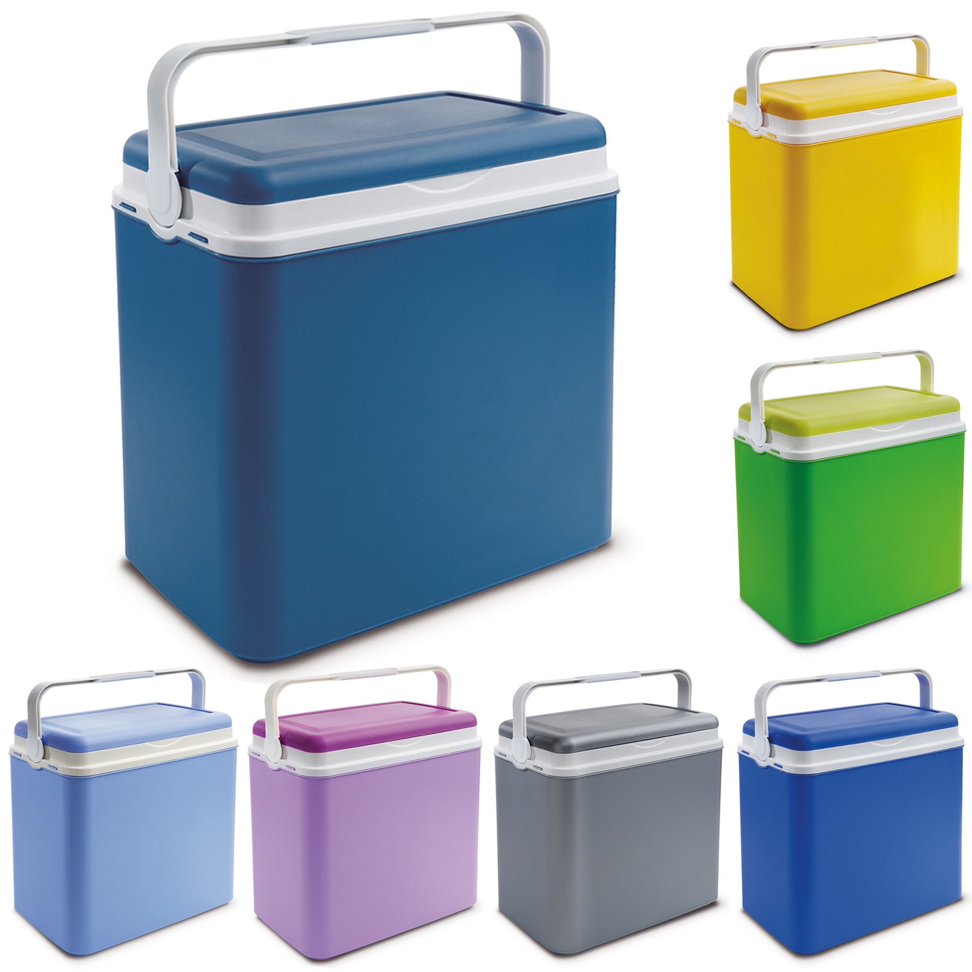 Ice Box Cooler : Large litre cooler box camping beach lunch picnic