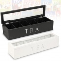 Teabox MDF with 6 Compartments