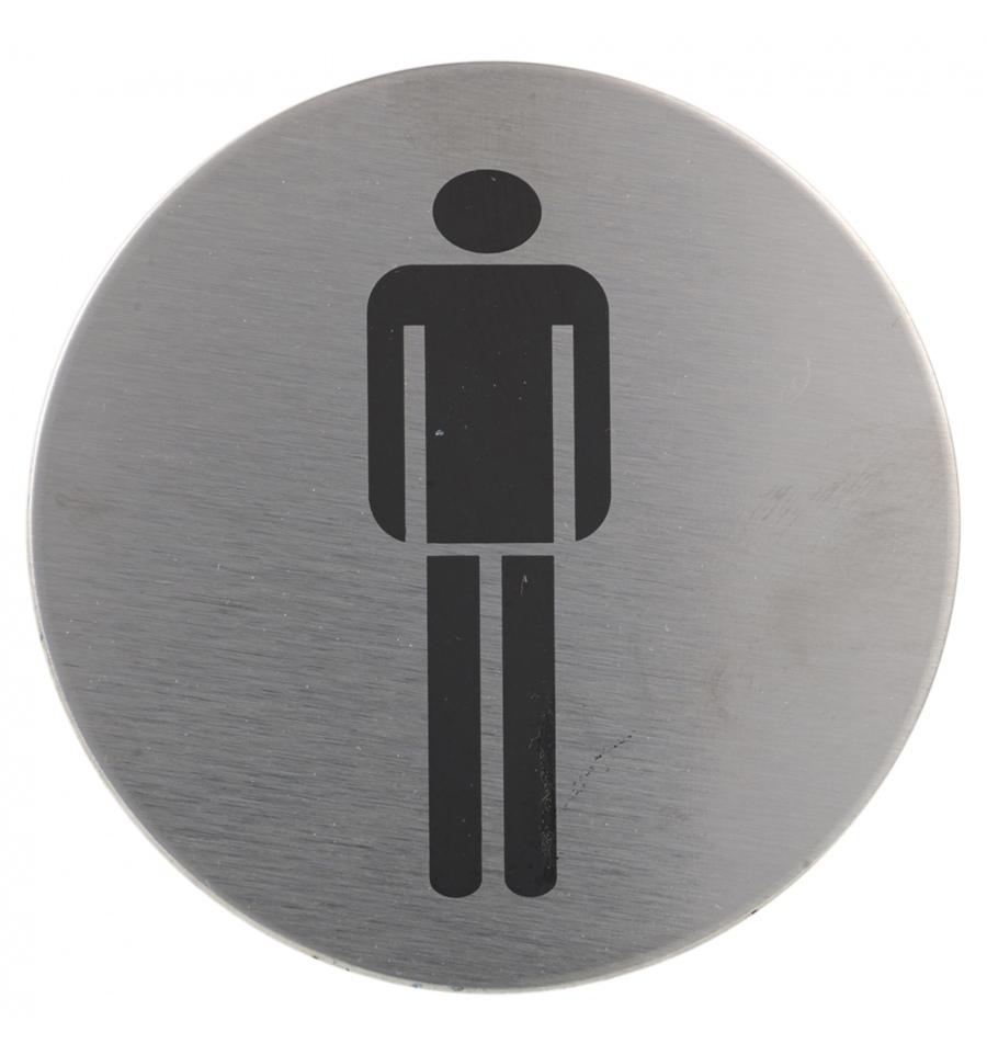 Stainless Steel Door Plates Toilet Signs
