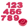 Minature Lifetime Cooking Silicone Baking Moulds Numbers [955988]