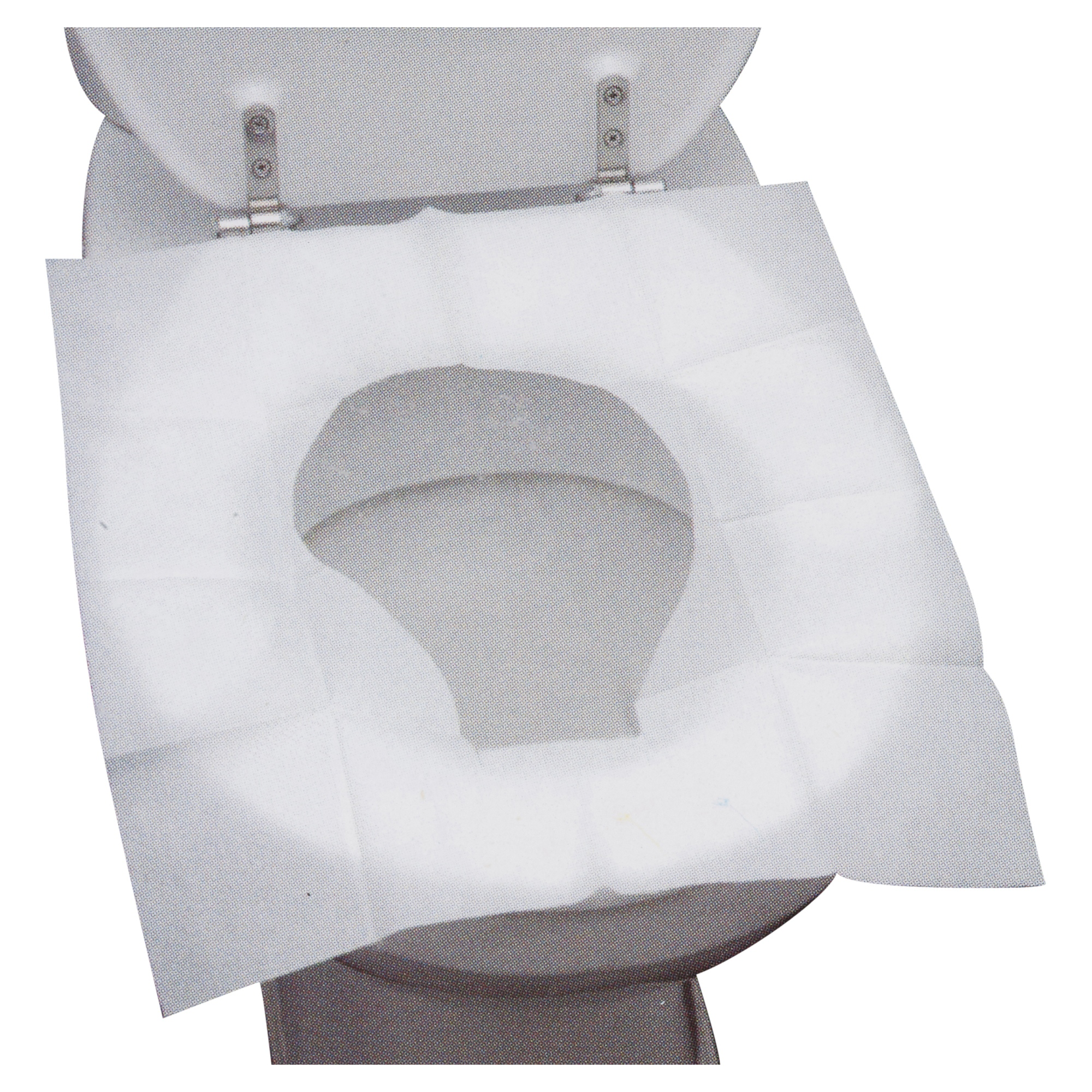 50 Disposable Toilet Seat Covers Hygienic Flushable Travel